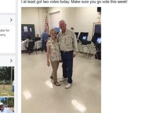 I got two votes!